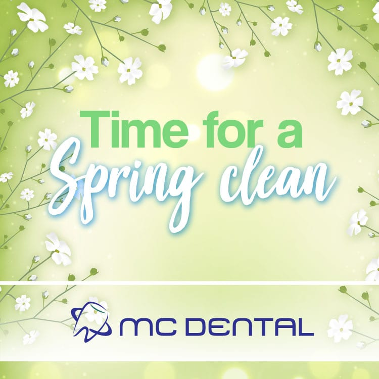 Time to Spring clean your mouth?