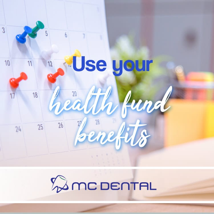 Don't forget to use your health fund benefits before December 31st.