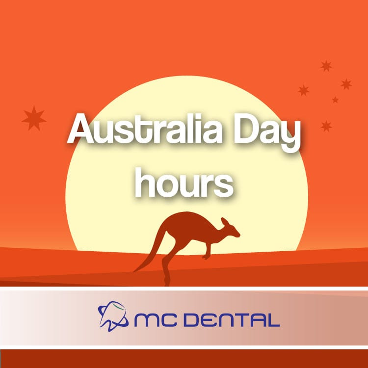 Australia Day holiday dentist