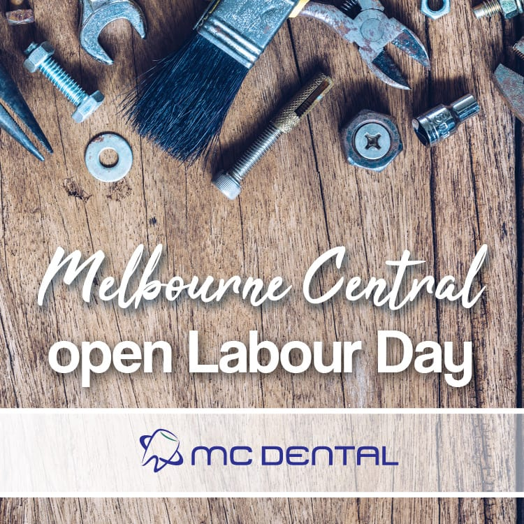 We've got a Melbourne dentist for you on the Labour Day holiday