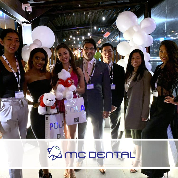 Melbourne dental team party