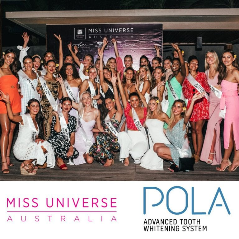 Miss Universe contestants with Pola whitening